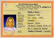 Kartu Izin Tinggal Terbatas (Temporary Stay Permit Card)